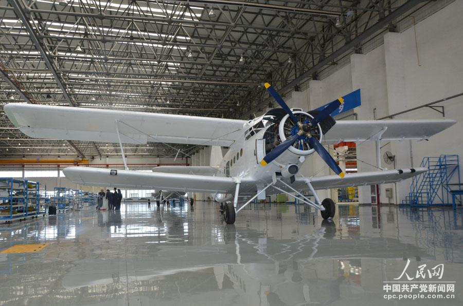 高清:探秘通用飞机的组装过程