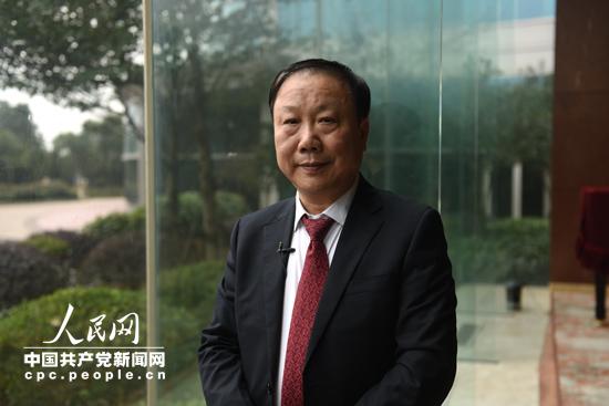 总裁�_郑秀康 康奈集团总裁(人民网记者 冯粒 摄)