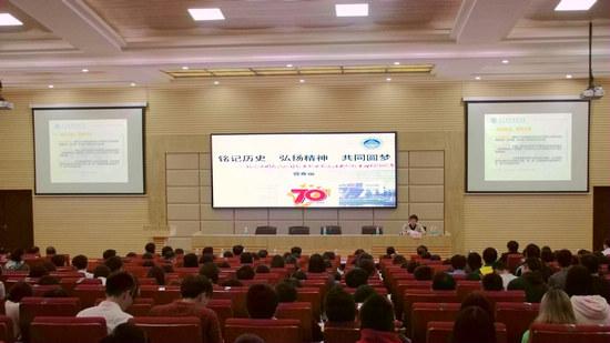 广东职业技术学院党委书记曾雅丽给学生上党课
