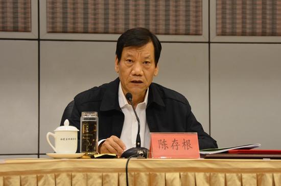 中央国家机关工委副书记陈存根(人民网记者 王金雪 摄)